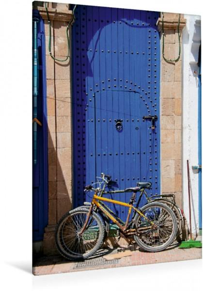 Wandbild Willkommen - Türen Marokkos Türe aus Essaouira Türe aus Essaouira