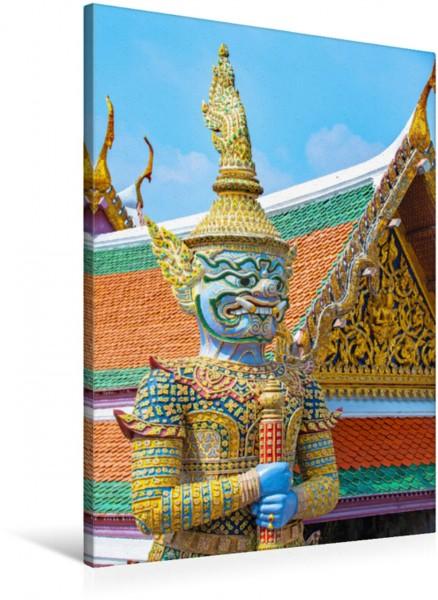 Wandbild Dämonen Wächter Wat Phra Kaew - buddhistische Tempel Wat Phra Kaew - buddhistische Tempel