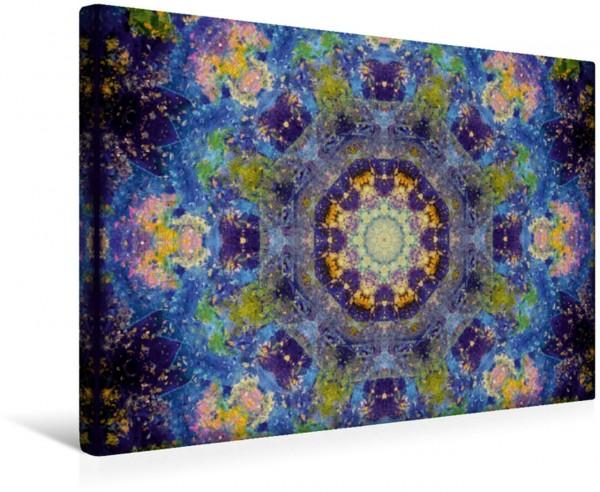 Wandbild Beauty Of Universe Mandala Galaxy Mandala Galaxy