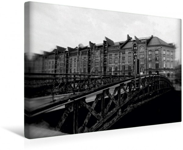 Wandbild Hamburg Jungfernbrücke