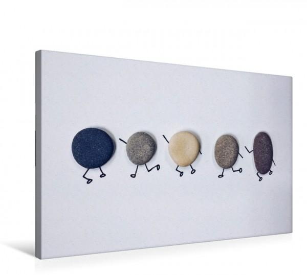 Wandbild Bezaubernde Steine - Kieselkunst