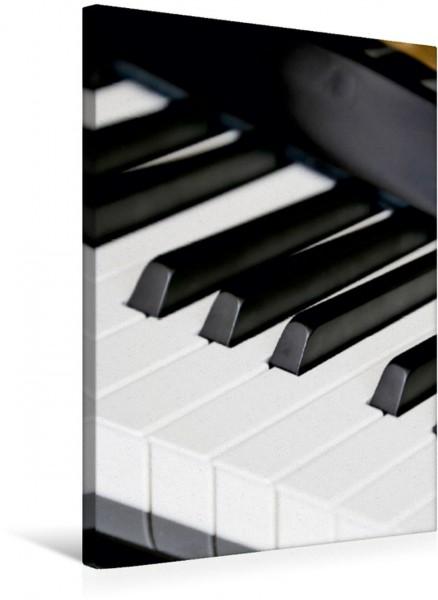 Wandbild Klavier