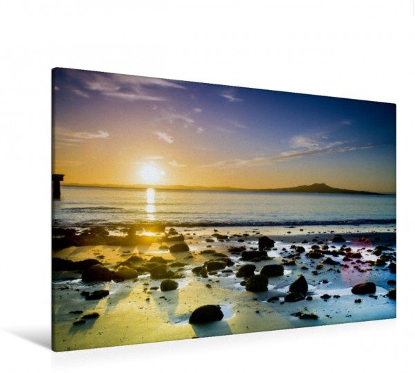 Wandbild Sonnenaufgang in der Murray Bay