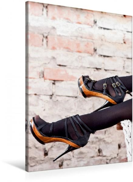 Wandbild High Heels