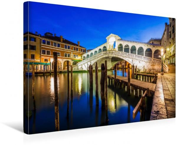 Wandbild Rialto-Brücke am frühen Morgen Venedig Italien Venedig Italien