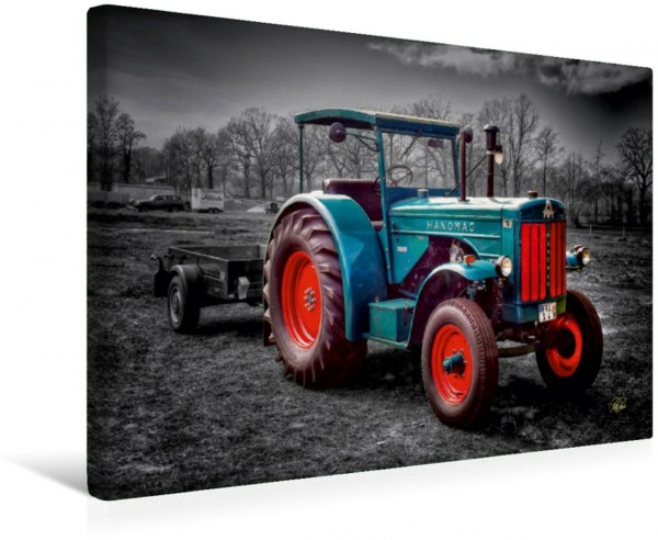 Wandbild Oldtimer Traktor Hanomag Traktoren - Oldtimer Traktoren - Oldtimer
