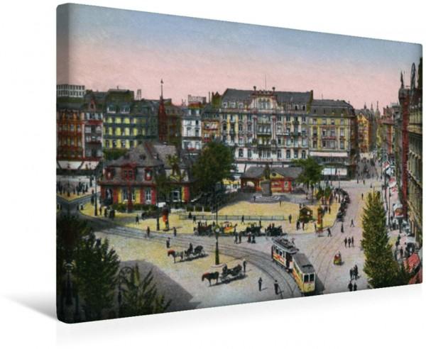 Wandbild Frankfurt am Main, Schillerplatz