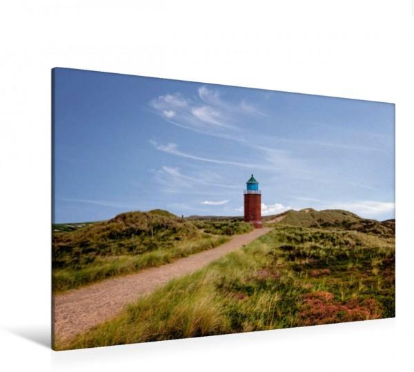Wandbild Leuchtturm Rotes Kliff in Kampen