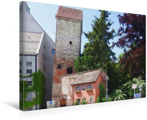 Wandbild Memmingen - Hexenturm Memmingen erleben Memmingen erleben