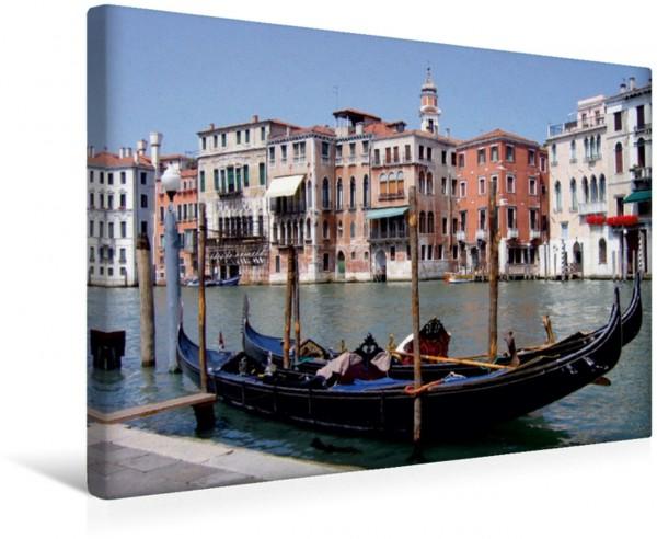 Wandbild Gondel am Canale Grande, Venedig