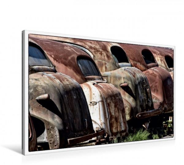 Wandbild Schlafende Schönheiten - Automobile Patina