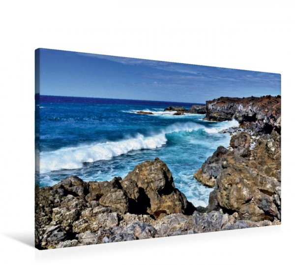 Wandbild Lanzarote Urgewalt des Atlantik an der Westküste Urgewalt des Atlantik an der Westküste
