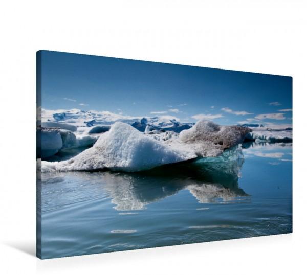 Wandbild Spiegelung Das klare Wasser des Jökulsarlon Das klare Wasser des Jökulsarlon