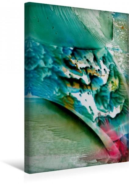 Wandbild Farben - Wasser - Spiel ... ALLES fließt ... ALLES fließt
