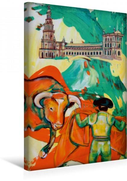 Wandbild Flamenco Torero Torero