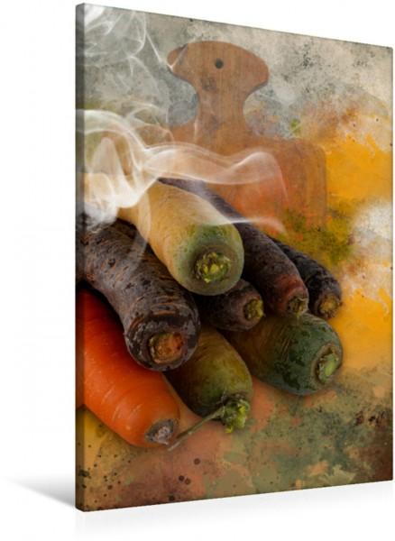 Wandbild kochKUNST - Karotten