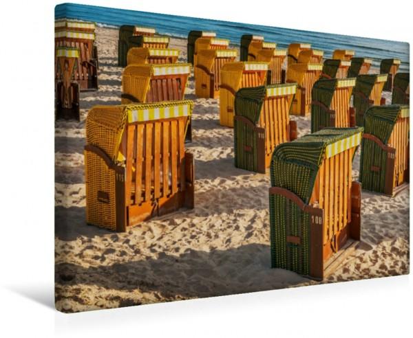 Wandbild Strandkörbe Binz Binz