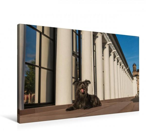 Wandbild Kurhaus Kolonnaden, die längste Säulenhalle Europas