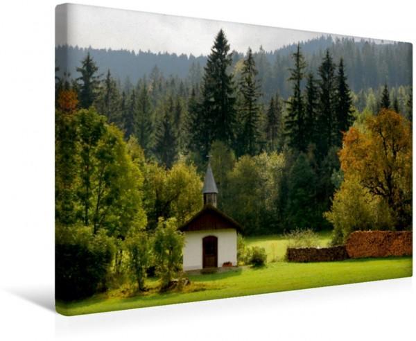Wandbild LANDLEBEN Kapelle im Bayerischen Wald Kapelle im Bayerischen Wald