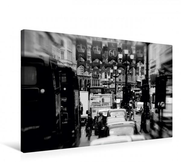Wandbild Traffic at Piccadilly Circus