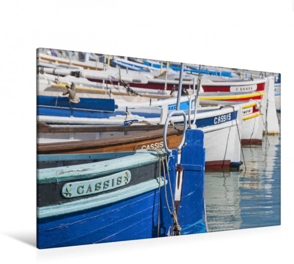 Wandbild Fischerboote in Cassis