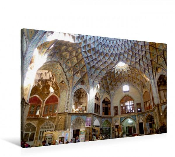 Wandbild Basar von Kashan, Iran