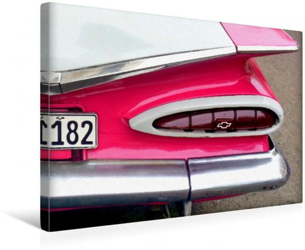 Wandbild Heckleuchte des US-Oldtimers Chevrolet von 1959