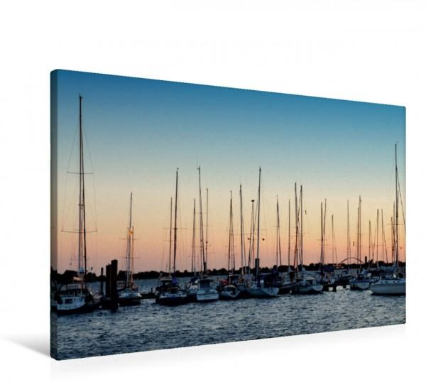 Wandbild Sonnenuntergang Fehmarn