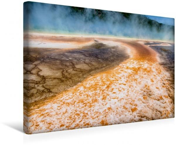 Wandbild Traumziele in den USA. Der Yellowstone National Park