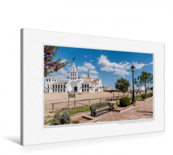 Wandbild Emotionale Momente: El Rocio – Spaniens weltberühmter Wallfahrtsort.