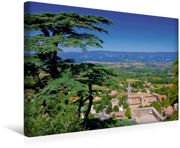 Wandbild Bonnieux Provence - Zwischen Meer und Alpen Provence - Zwischen Meer und Alpen
