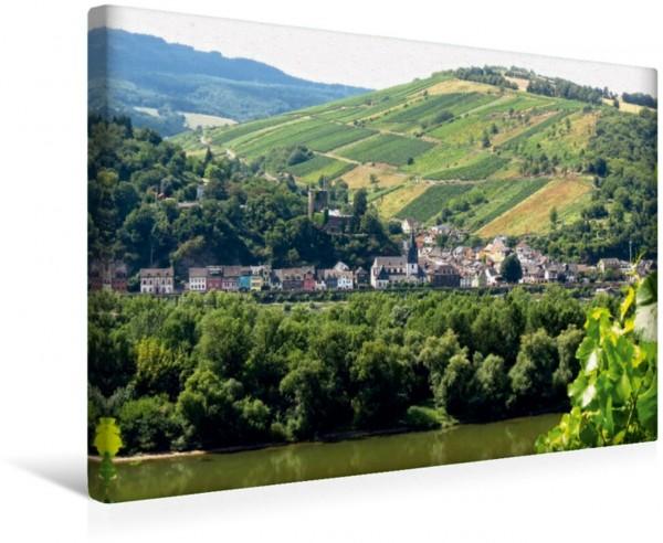 Wandbild Niederheimbach von der anderen Rheinseite aus von der anderen Rheinseite aus