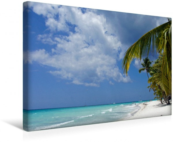 Wandbild Palmen am Meer