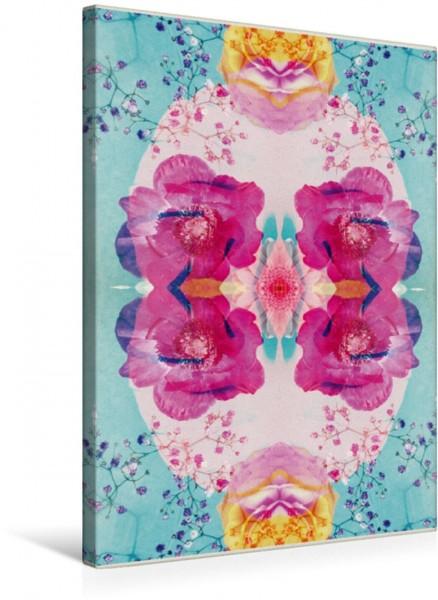 Wandbild Ewigkeit Ornament von Blumen Ornament von Blumen