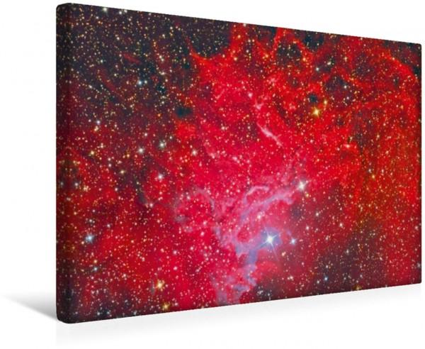 Wandbild Flaming-Star-Nebel IC 405