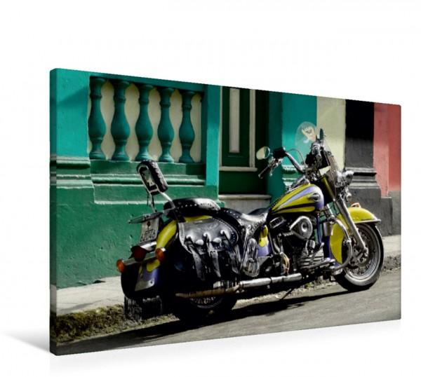 Wandbild Harley Davidson in Havanna