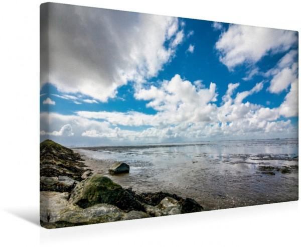 Wandbild Campen Wattenmeer