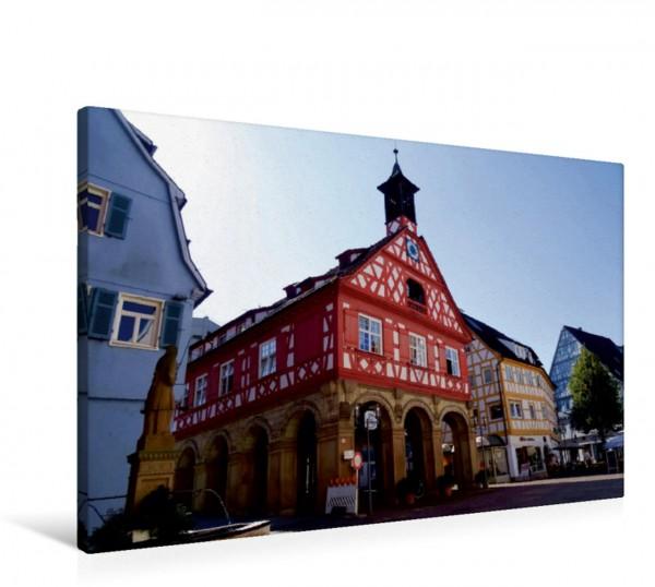 Wandbild Altes Rathaus Unterwegs in Waiblingen Unterwegs in Waiblingen