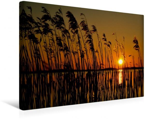 Wandbild Sonnenuntergang