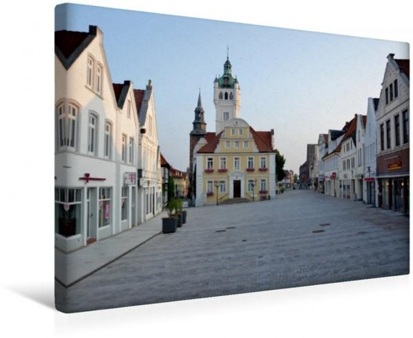 Wandbild Rathaus & Marktplatz - Verden Aller