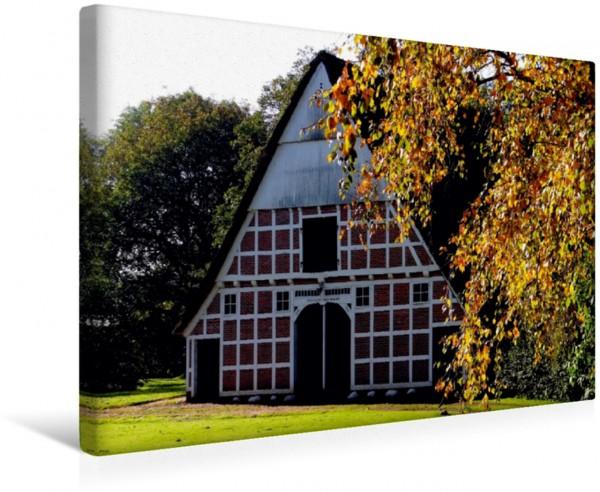 Wandbild Historischer Kehdinger Bauernhof
