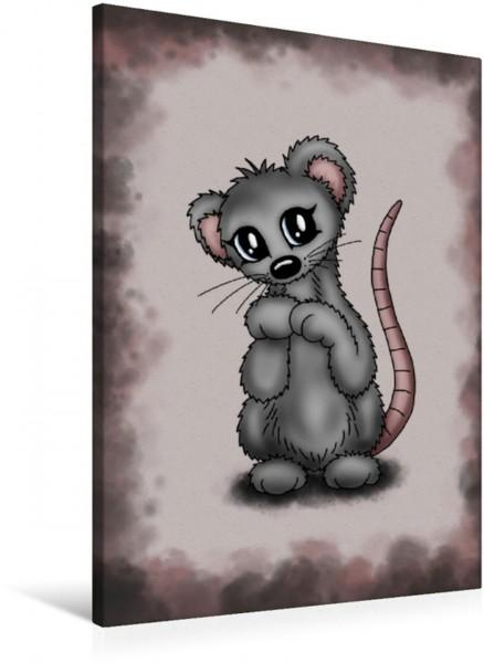 Wandbild Herzige Maus