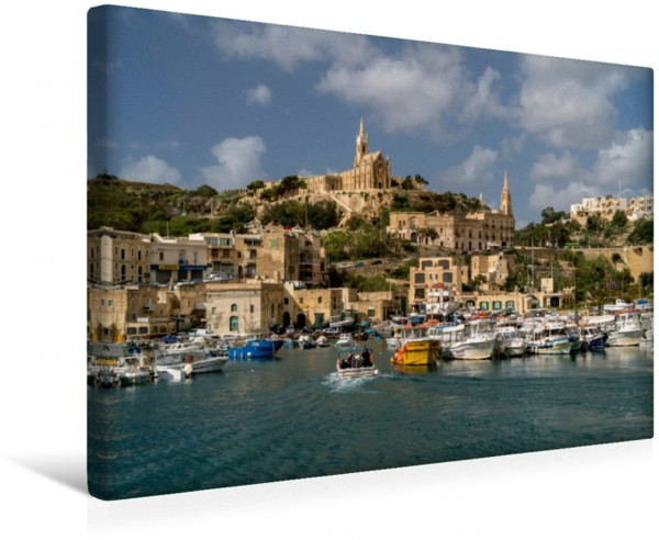 Wandbild Mgarr, Insel Gozo