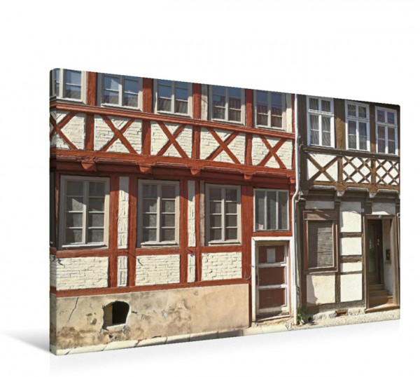 Wandbild Quedlinburg, Altentopfstraße