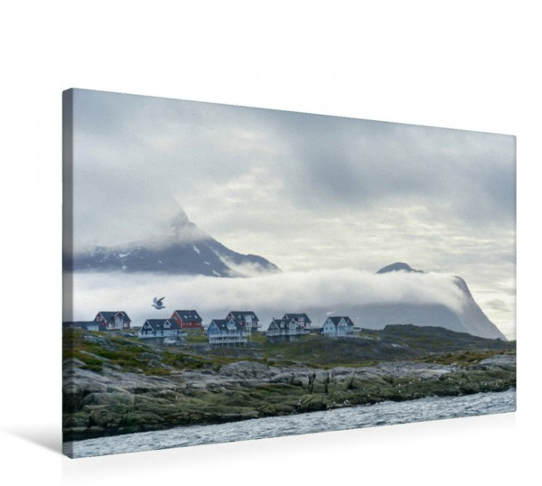 Wandbild Nuuk, die Hauptstadt Grönlandsr