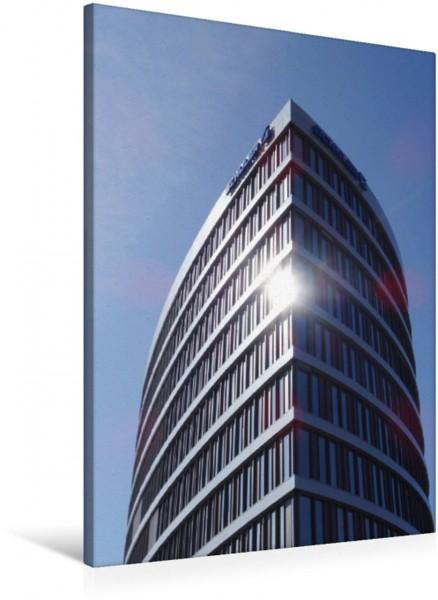 Wandbild Modernes Verwaltungsgebäude der Schuler AG