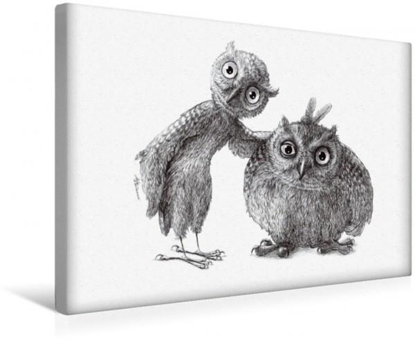 Wandbild Stan und Oliver Zwei Spaßvögel Zwei Spaßvögel