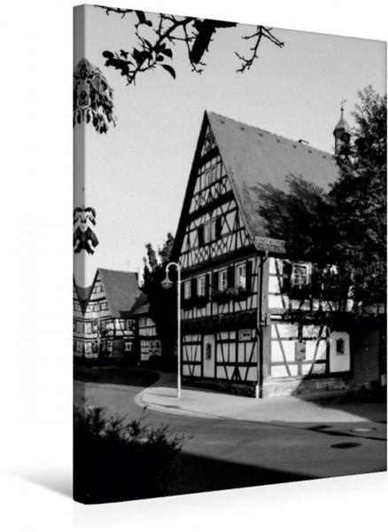 Wandbild Rathaus Stetten