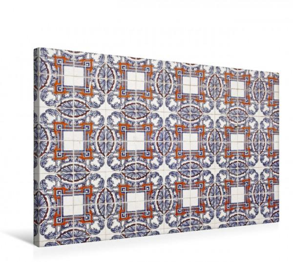 Wandbild azulejos in lissabon