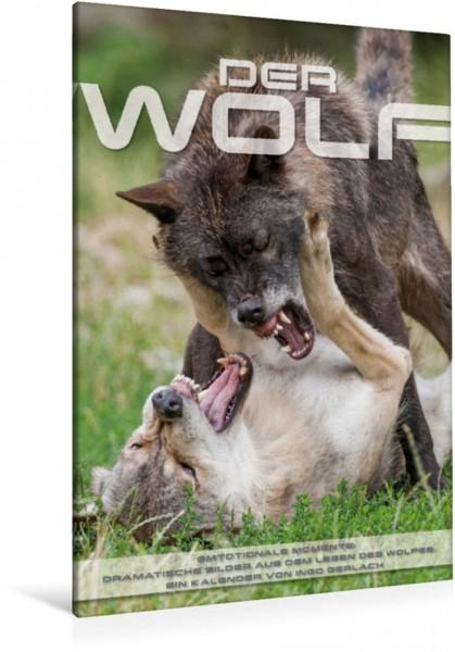 Wandbild Emotionale Momente: Der Wolf.